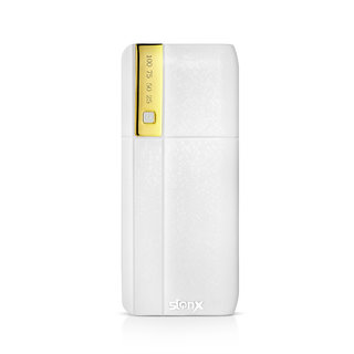Stonx Powerful With 10400 Mah Powerbank (White)
