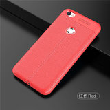 Redmi Y1 / Y 1 Original Auto Focus All Side Full Protection  Shock Proof Leather Pattern  Soft Back Case / Cover