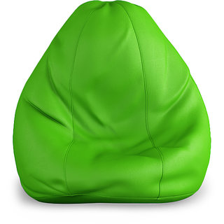 XXL Size Bean Bag cover- Green Color (Without Beans)