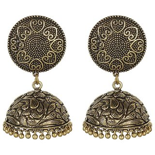 MUCH MORE Decent Look Gold Plated Party Wear Fashion Earring Jewellery For Women's