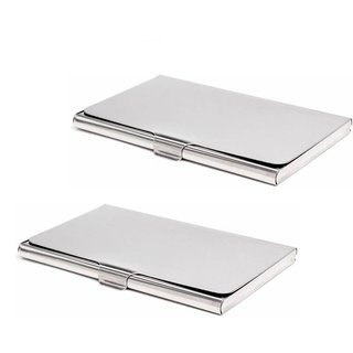 AV Enterprises RFID ATM/Visiting /Credit Card Holder,Business Card Case Holder, ID Card Holder FOR MEN WOMEN (Pack Of 2)