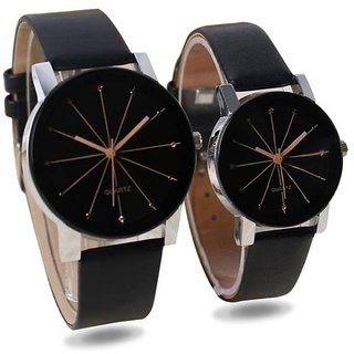 Crystal HRV Watch For Men And Women Cupple /Combo Watch For Latest Desining Stylist Crystal Dile Watch By 5Star