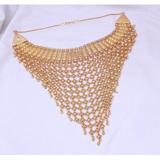 Jewelz High Quality Netted Choker Necklace