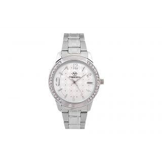 PREEZON WHITE TIGRESS WOMEN'S ANALOG WATCH