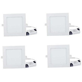 12w LED  Panel light pack of four