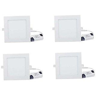 12w LED  Panel light pack of four