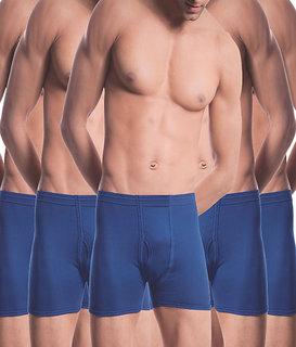 (PACK OF 5)  Common Mens Cotton Trunk Underwear - Multi-Color