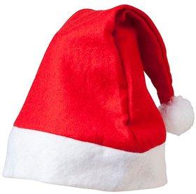 Christmas Pack of 1 Red Santa Cap