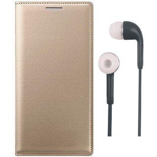 Moto G5 Premium Leather Cover with Earphones