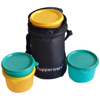 Tupperware Executive Lunch Set with Bag 4-Pieces