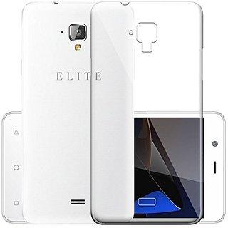 ECS Transparent Soft Back Case Cover For Swipe Elite 2 Plus (2017 Launch)