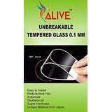 OPPO F 1 S UNBREAKABLE TEMPERED GLASS 0.1 MM By ALIVE