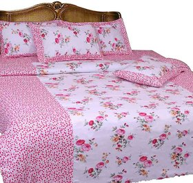 Aashish collection cotton double bedsheet (X one)