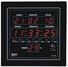 Ajanta LED Digital Wall Clock - OLC 302