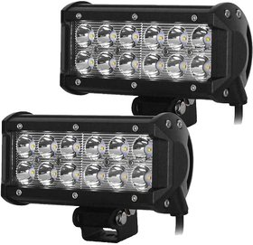 DLT 12 LED Fog Light / Work Light Bar Spot Beam Off Road Driving Lamp 2 Pcs 36W CREE Set of 2