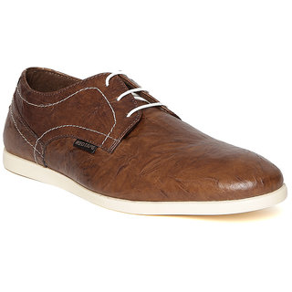 Red Tape Men Tan Leather Casual Shoes