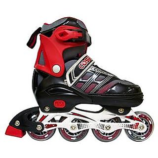 Cosco Sprint Inline Skate-Red And Black (Size-L)