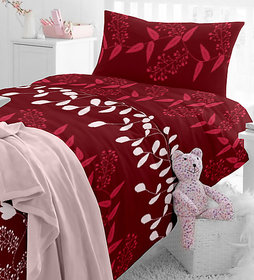Aashish collection 3D Printed Premium Double Bedsheet + 2 Pillow Covers(PC-DBL-3D52)