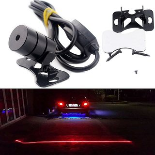 DLT BIKE CAR REAR FOG LED LASER SAFETY LIGHT ANTI-COLLISION 12V MOTORCYCLE /BIKE