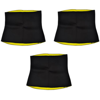 Hot Shapers Belt for Remove Tummy and Waist Fat (Combo Pack of 3 )