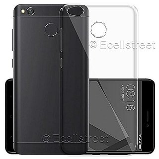 ECS Transparent Soft Back Case Cover For Panasonic Eluga I5 (5 Inch)
