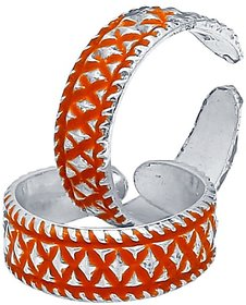 CS Jewellers Concrete Silver Toe Ring