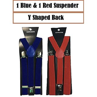 Buy Suspender Anniversary Gift for Him for Men Elegant Y-Shaped Back Color  Blue and Red Online - Get 73% Off 80127b9b0