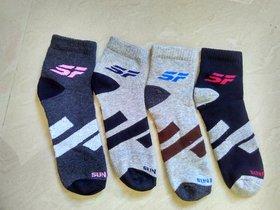 SF Sport Socks for Man Pack of 4