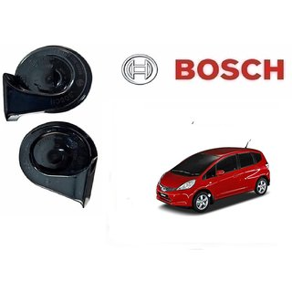Bosch Car Symphony Fanfare Horn 028 (Set of 2) for Honda Jazz By Autonity