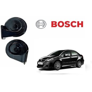Bosch Car Symphony Fanfare Horn 028 (Set of 2) for Maruti SX4 By Autonity