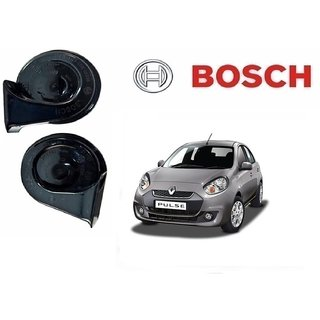 Bosch Car Symphony Fanfare Horn 028 (Set of 2) for Renault Pulse By Autonity