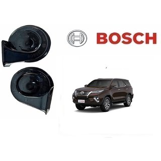 Bosch Car Symphony Fanfare Horn 028 (Set of 2) for Toyota Fortuner Type 1 By Autonity