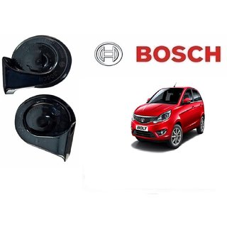 Bosch Car Symphony Fanfare Horn 028 (Set of 2) for Tata Bolt By Autonity