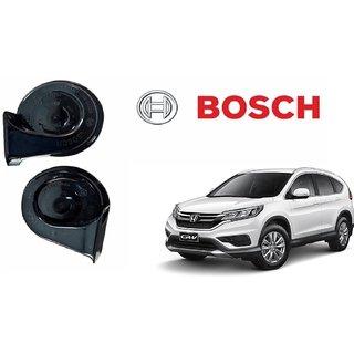 Bosch Car Symphony Fanfare Horn 028 (Set of 2) for Honda CRV By Autonity
