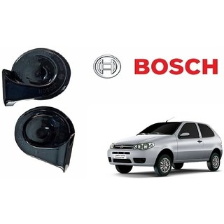 Bosch Car Symphony Fanfare Horn 028 (Set of 2) for Fiat Palio By Autonity