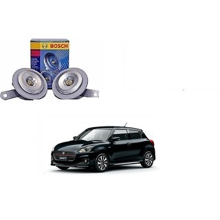 Bosch Car FC4 Horn 191 (Set of 2) For Maruti Suzuki New Swift (Type 3 2017)  By Autonity