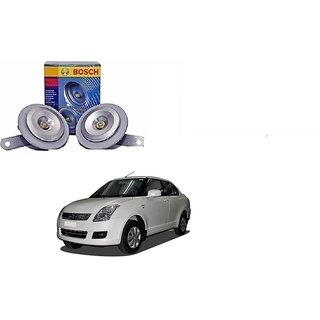 Bosch Car FC4 Horn 191 (Set of 2) For Maruti DZire By Autonity