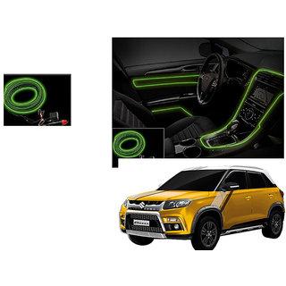autonity car interior ambient wire decorative led light lemon for maruti suzuki vitara brezza. Black Bedroom Furniture Sets. Home Design Ideas