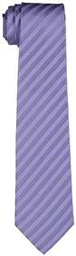 Speak Natural Silk Hand-Made Blue Stripes Tie SPK3006HT