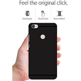 super popular e170e b7232 Buy Black Redmi Y1 Back Cover , Rubber Online @ ₹98 from ShopClues