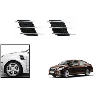 Autonity   Black & Chrome Car  3D Graphic-  Maruti Suzuki New Swift (Type 3 2017)