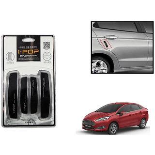 Autonity i-pop Simple Black Car Door Scratch Guard Protector ipop For Ford Fiesta
