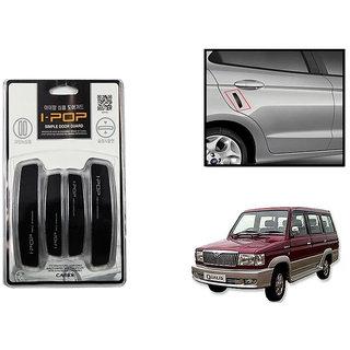 Autonity i-pop Simple Black Car Door Scratch Guard Protector ipop For Toyota Qualis