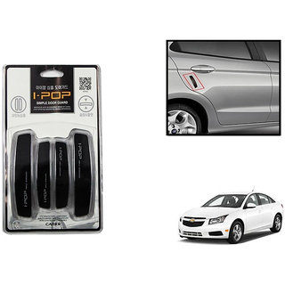 Autonity i-pop Simple Black Car Door Scratch Guard Protector ipop For Chevrolet Cruze