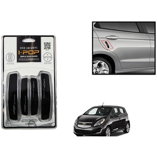 Autonity i-pop Simple Black Car Door Scratch Guard Protector ipop For Chevrolet Spark