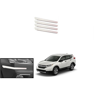 Autonity Fouring i-pop Bumper Guard / Protectors-White For Honda CRV