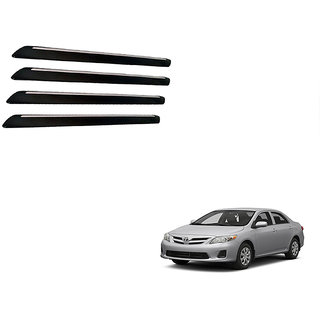 Autonity Fouring i-pop Bumper Guard Black Set Of 4 For Toyota Corolla