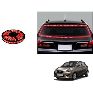 Autonity 5 Meters Waterproof Cuttable LED Lights Strip Red For Daewoo Go