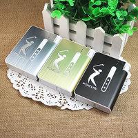 FOCUS 10 Cigarette Case With Lighter (Set Of 1)