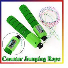 Fraction Skipping / Jumping Rope with Counters - Count your workout